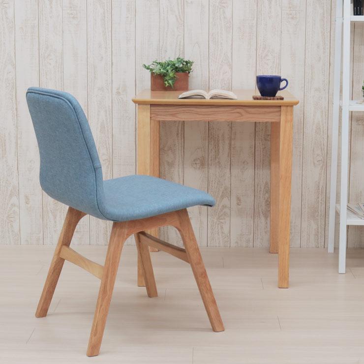 ダイニングテーブルセット 2点セット 幅60×60cm mt60-2-pani339naok ダイニングセット イス1脚 テーブル デスク 机 ナチュラルオーク色/NA-OAK 1人掛け 1人用 BL色 ブルー色 コンパクト 食卓 シングル 単身 アウトレット お客様組立品 6s-2k