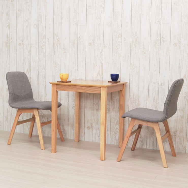 ダイニングテーブルセット 3点セット 幅60×60cm mt60-3-pani339naok ダイニングセット 2人用 2人掛け テーブル 机 デスク イス2脚 ナチュラルオーク色/NA-OAK LGE色 コンパクト 食卓 シンプル アウトレット お客様組立品 10s-3k so