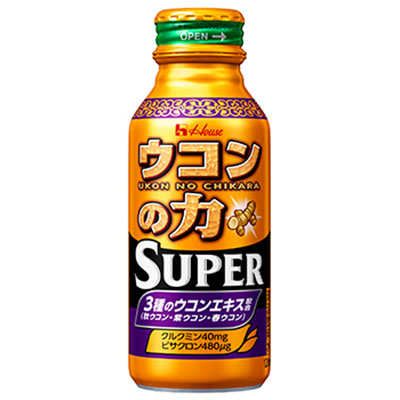 【2ケース】ハウス ウコンの力 スーパー ボトル缶 120ml 30個×2箱(沖縄県・離島は別途送料が必要となります)