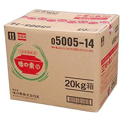 AJINOMOTO -味の素- 味の素 20kg 箱 業務用 【沖縄・離島は別途中継料金】