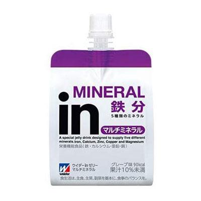 森永製菓 inゼリー マルチミネラル 180g×36個×2箱 合計72個 【ウイダー】