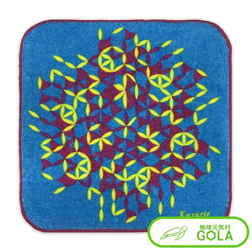 クスリエ 5%OFF ミニタオル ウルス はウィルスが気になる人におすすめです クーポン祭り開催中 運 カタカムナ カタカムナウタヒ 宅送