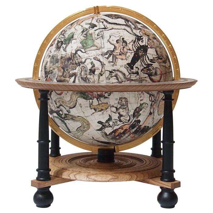 300年前大航海時代の天球儀【日本製】ファルク天球儀 スタンダード版