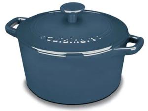 20cmラウンド キャセロール  ブルー 鋳物ホーローウェア クイジナート Cuisinart 【532P16Jul16】