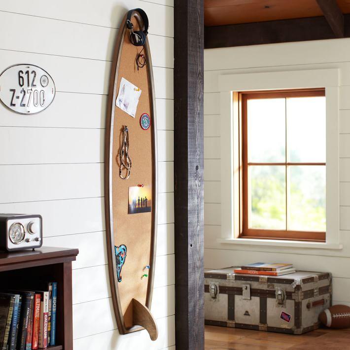 サーフボード型 ディスプレイボード サーフボード 西海岸風 インテリア おしゃれ 壁掛け 飾りボード 西海岸 送料無料 地球家具