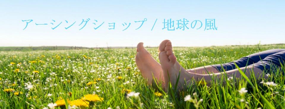 アーシングショップ/地球の風:一歩先行く!オリジナルアーシンググッズ