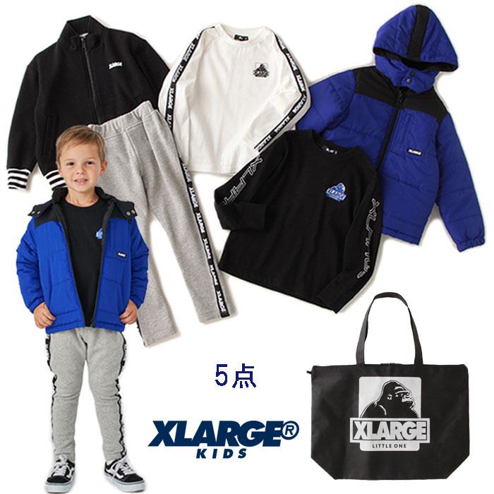 【予約商品】【送料無料】エクストララージキッズ(XLARGE KIDS)【2020福袋】男児(1万円税別)5点セット【90cm-140cm】