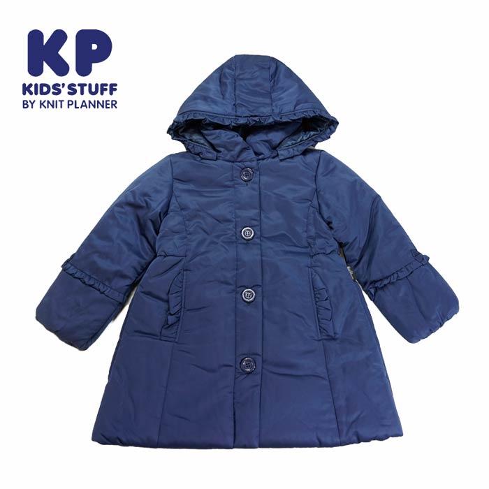 (SALE 40%OFF)KP(ケーピー)サーモライトの中綿コート-3402【120cm|130cm】【宅配便】KP(ニットプランナー)