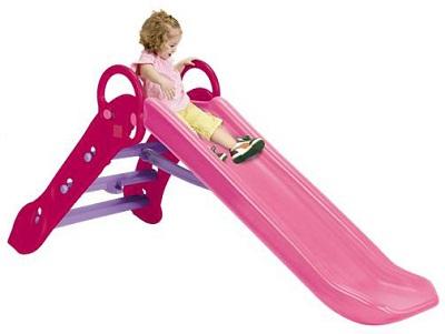 ★<大>Grow'n up 折りたたみロングすべり台 ピンク SG-BG-PK【ヤトミ】 大型遊具 スライダー 折りたたみ式 折り畳み
