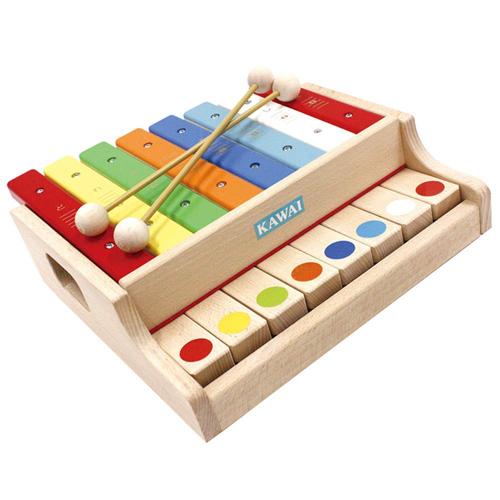 KAWAI シロホンピアノ G (グランド型)【クレジットOK!】河合楽器 カワイ 知育玩具 木製玩具 木のおもちゃmarron
