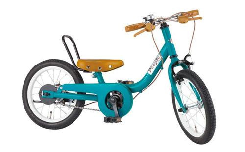 ピープル ケッターサイクル 14インチ ブルーミングターコイズ YGA312【包装不可】子供・幼児用自転車 足けり ピープル marron