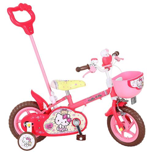1261 ハローキティ 12D キッズバイク <完成品>今なら、自転車カバープレゼント!【クレジットOK!セール中♪】子供用自転車 カジキリ可能!marron