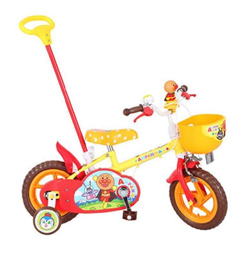 1260 それいけ! アンパンマン 12D  12インチ<完成品>★今なら自転車カバープレゼント!【クレジットOK!セール期間限定】カジきり自転車【ky】【smtb-k】marron おもちゃ