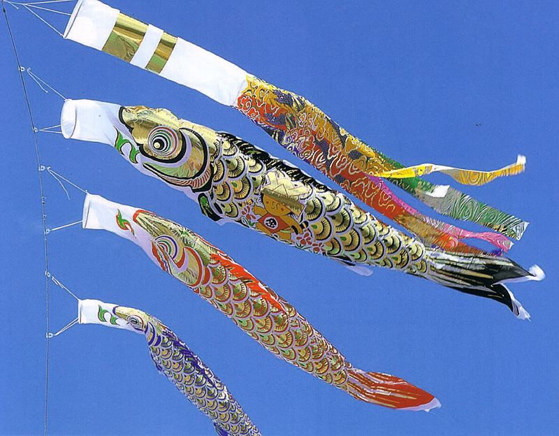 送料無料!5-4915のびのび金太の鯉のぼり1.5m×7点セット【ベランダ用(ポール付)】 こいのぼり セール【ky】【smtb-k】marron