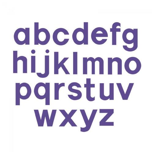 ペーパークラフト シジックス 型 アルファベット ブロック31/2 小文字 A10081sizzix 文字 英字 アルファベット型 かわいい 型抜き 抜き型 あつい型 切り抜き紙が作れる型 紙 画用紙 工作用紙 段ボール 布 革 フェルト ビッグショット プラスマシン プロマシン エンボス