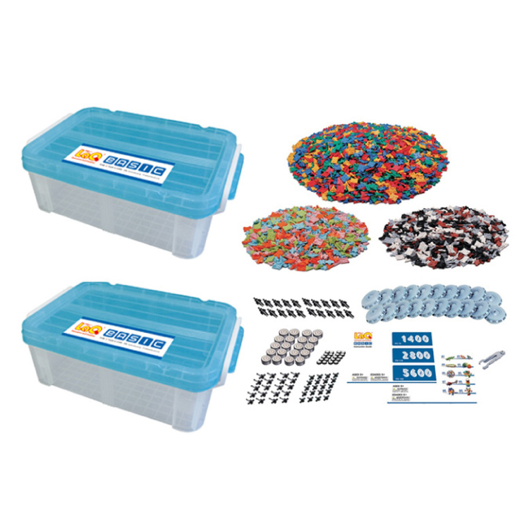 知育 玩具 ラキュー ブロック 5歳から LaQ ベーシック 8400おもちゃ 知育玩具 ラキューブロック 8400ピース 知育ブロック 5歳 こども 子供 子ども キッズ オモチャ 男の子 女の子 男 女 誕生日 人気 ギフト 贈り物 プレゼント