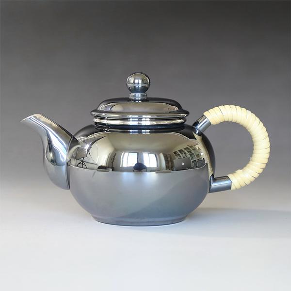 一守堂 烏龍茶壷/ウーロン茶ポット/ いぶし銀/送料無料/母の日