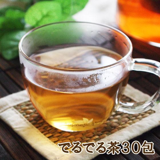 キャンドルブッシュ プーアル茶 ルイボスティー ハブ茶 ブレンド茶 ダイエット茶 海外限定 健康茶 お買い得品 ティーバッグ30包 ティーバッグ でるでる茶 済