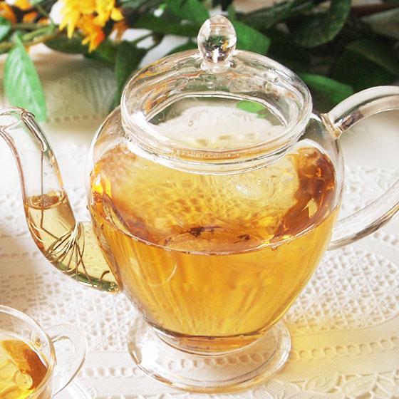 王妃壷 ガラス製ティーポット 茶こし付き ティーポット マーメイド型のティーポット 紅茶 烏龍茶 ハーブティーにも ガラス茶器 急須 耐熱ガラス 茶器 茶こし付き ティーポット 王妃壷 耐熱ガラス 450ml
