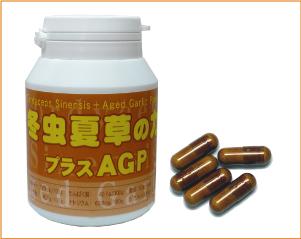 冬虫夏草の力+AGP 180粒/本