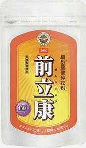 前立康(ぜんりつこう)◎ミツバチ花粉 1袋180粒※90種類以上の栄養素!2袋以上で【代引き・送料無料!】【smtb-s】