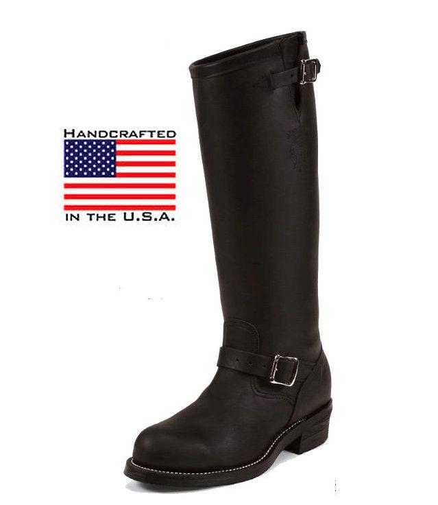 """Chippewa Chippewa 17 """"Engineer Boots 27909"""