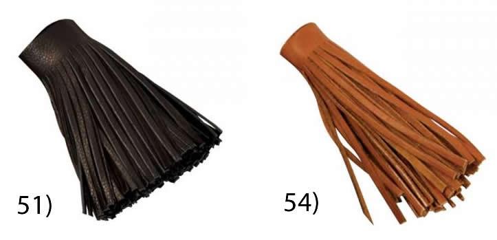 【USA直輸入】tandy LEATHER製 レザークラフト材料 革 道具 金具 フリンジ 長さ102mm(紐巾4mm、紐長さ914mm) 1個入 カラー:2種類 Deertan Fringe 5035-【送料無料 通販】