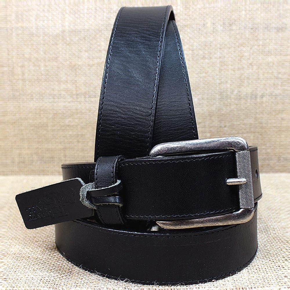 (#18)C11743 メンズ ブラック ウエスタンベルト (サイズ:32~46インチ) ジャスティン 【JUSTIN】