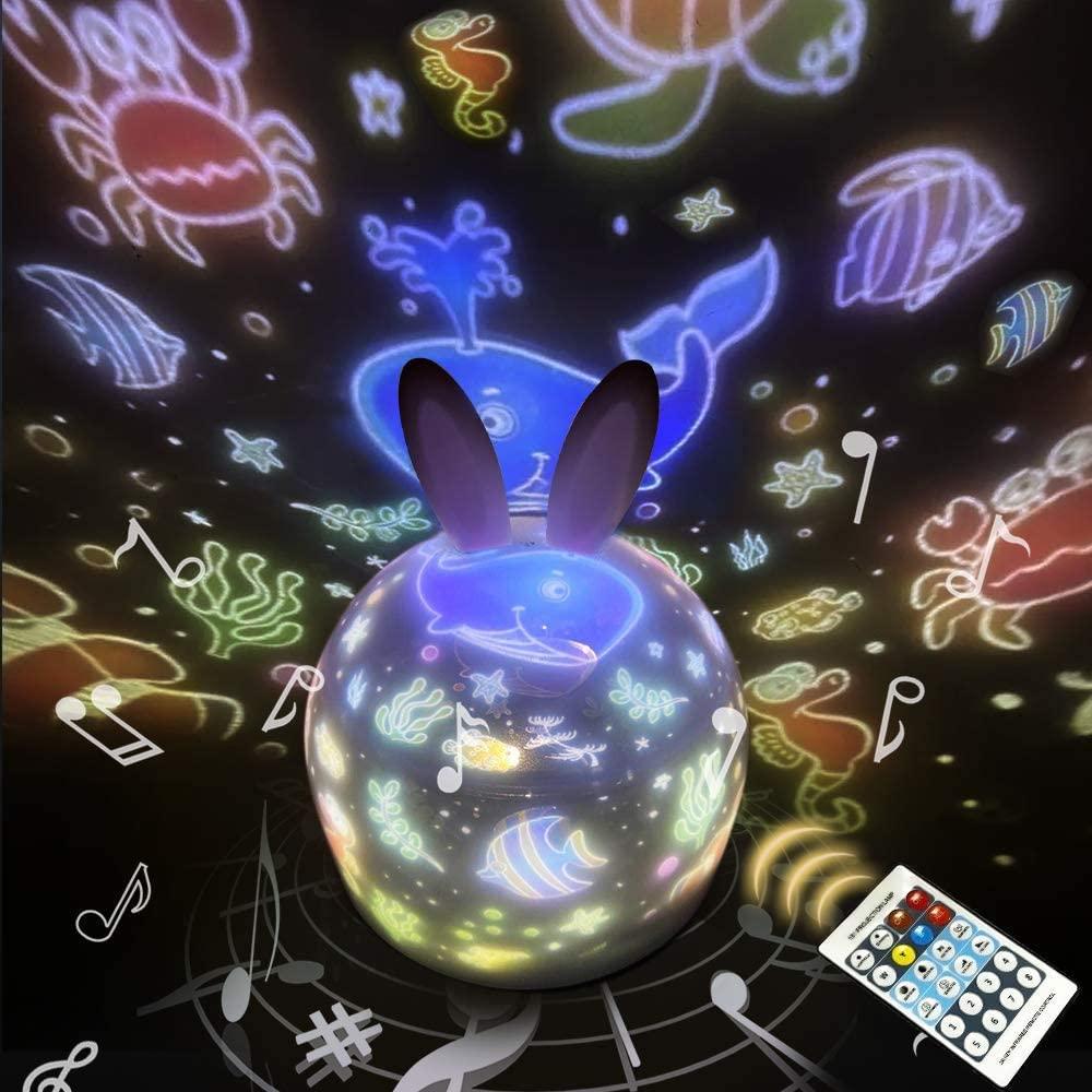 リモコン タイマー式 プラネタリウム 家庭用 スタープロジェクターライト 星空ライト り 誕生日プレゼント ウサギ 赤ちゃん ベビー 睡眠誘導マシン 購入 鹿 人気の製品 おもちゃ 出産祝い