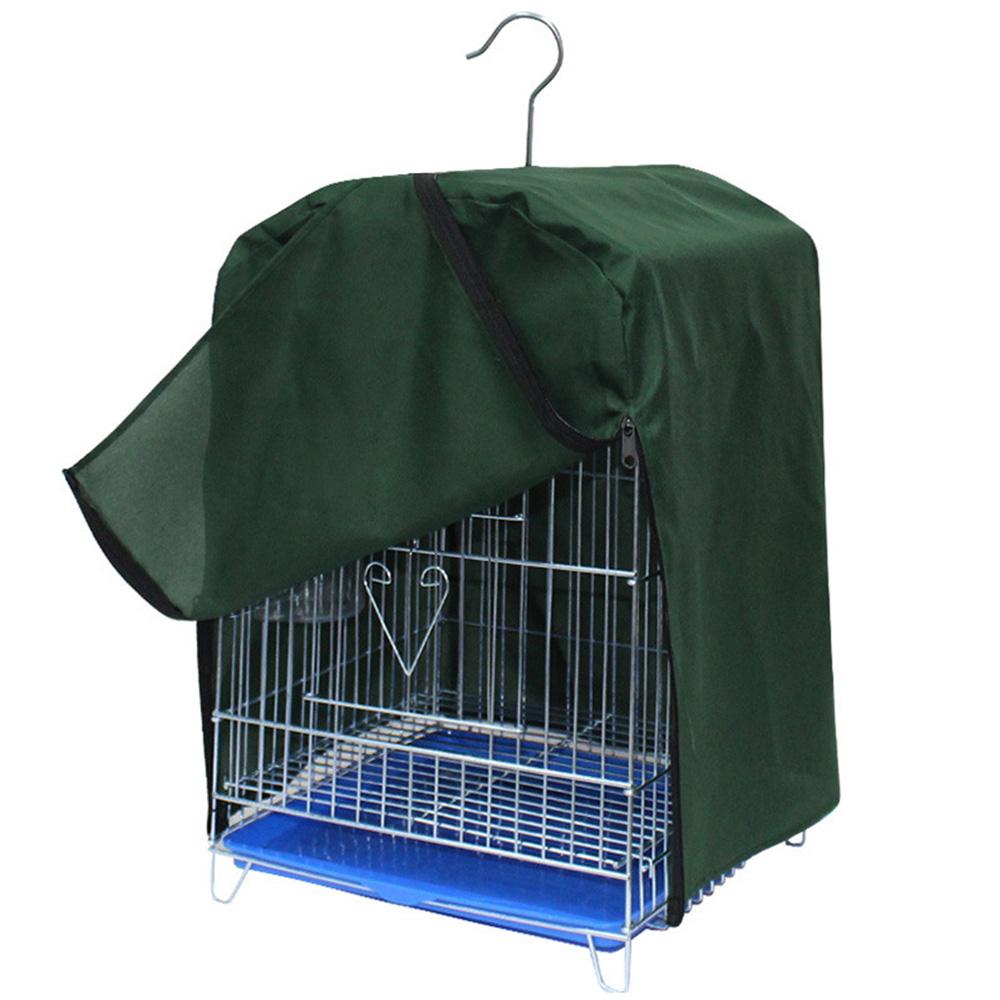 鳥かごカバー 高い素材 ケージカバー 遮光 防寒 防音 防風 ジッパー付き おやすみ 愛鳥の安心熟睡をサポート 安眠 洗濯可 警戒心の強い鳥でも安心 折りたたみ式 厚手 掛 おトク 2色