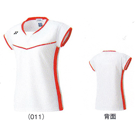 Yonex 妇女适合衬衫 20323Y 羽毛球日本代表性的模型 Flash 女士女性妇女 YONEX 2016 春天夏天模型订单的可能性有限的数据包支持
