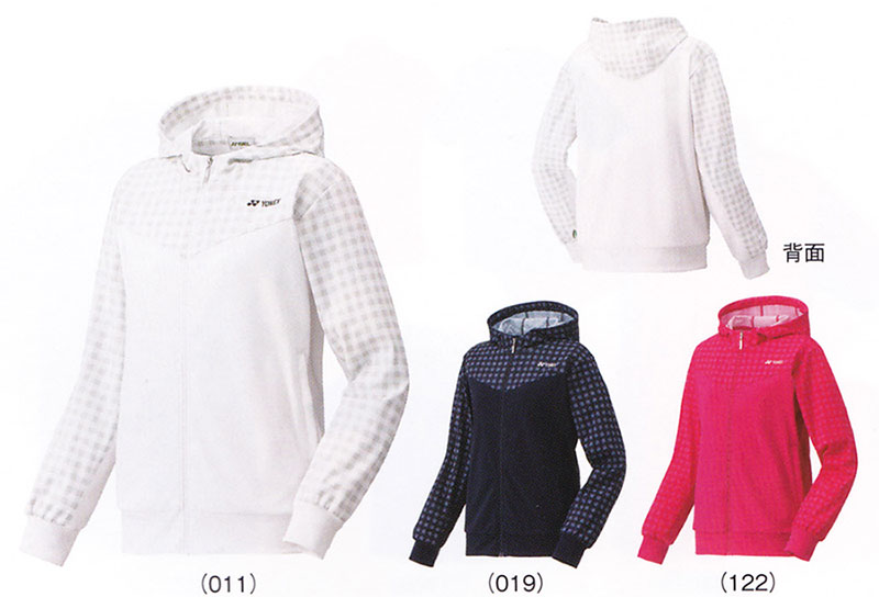 Yonex WOMEN nit warm up shirt 57021 badminton tennis training warm up women women women's YONEX 2016 models