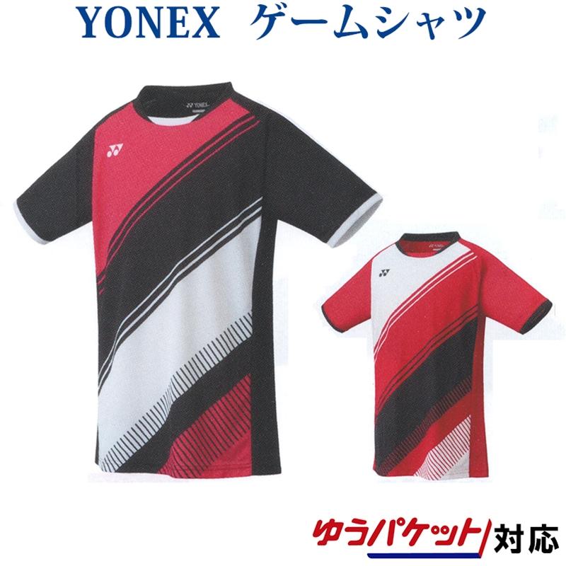 YONEX 数量限定 2020春夏新作 在庫処分 子供用 ユニフォーム ヨネックス ゲームシャツ 10395J ジュニア メール便 テニス 2021SS ソフトテニス 対応 ゆうパケット バドミントン