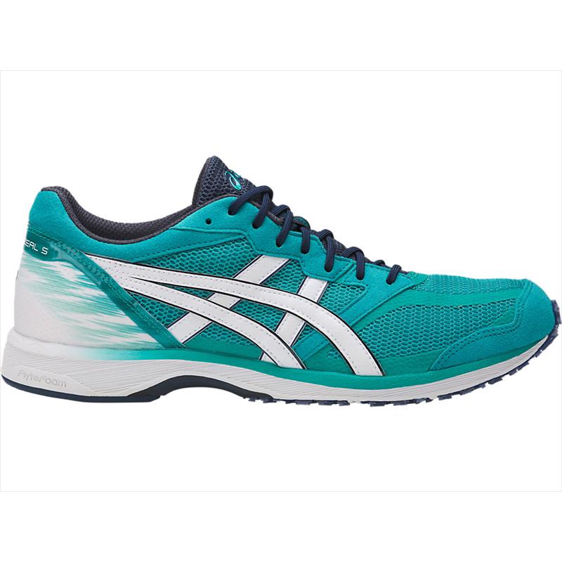 【在庫品】 アシックス TARTHERZEAL 5-slim ラピス×ホワイトTJR290-3801ランニング ジョギング マラソン レーシング シューズ スリムASICS 2017SS