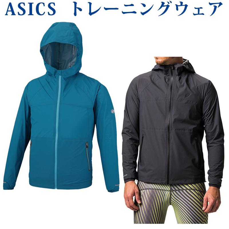 アシックス ウォータープルーフジャケット 154233 メンズ 2018AW ランニング 2018新製品 2018秋冬