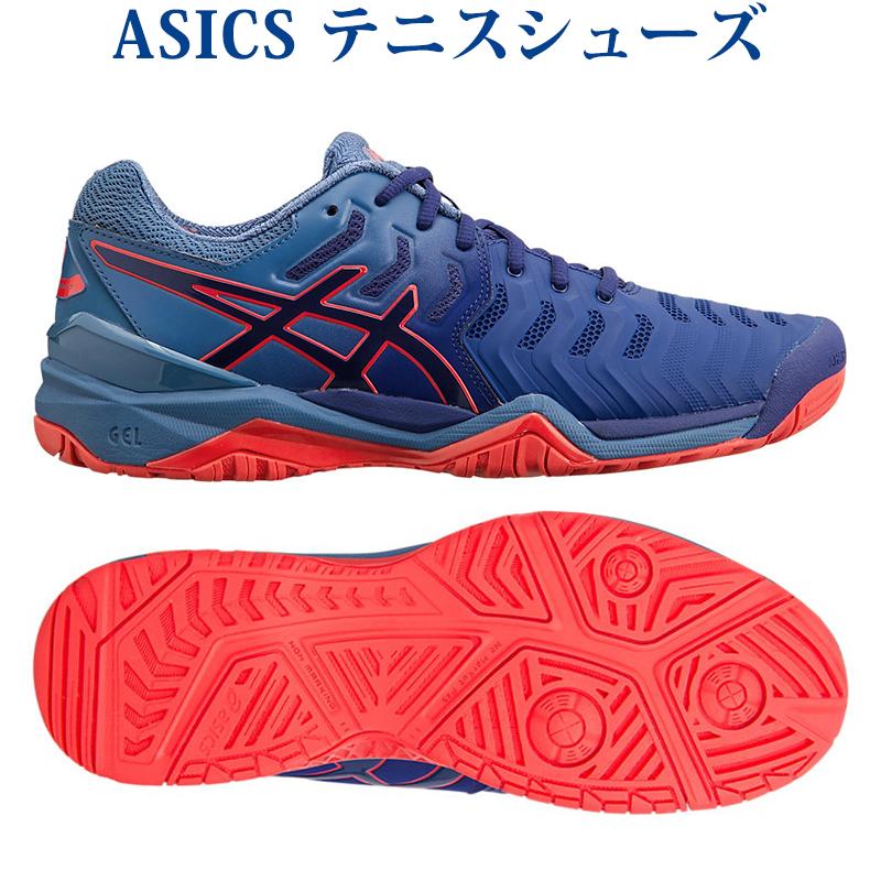 【在庫品】 アシックス ゲルレゾリューション 7 TLL784-400 メンズ 2018AW テニス ソフトテニス 2018新製品 2018秋冬