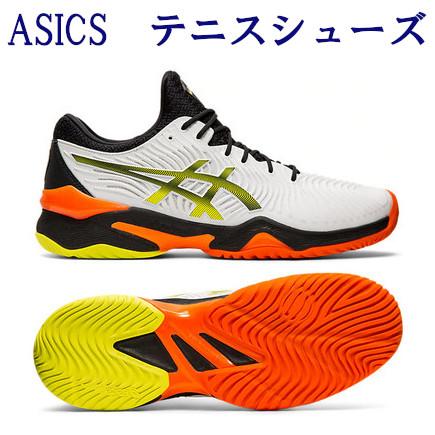 アシックス テニスシューズ オールコート用 コートFF 1041A083-100 メンズ ユニセックス 2019AW テニス ソフトテニス