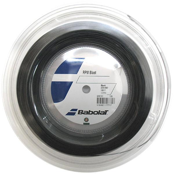 【在庫品】 バボラ RPMブラスト 200m BA243101 硬式テニス テニスガット ストリング