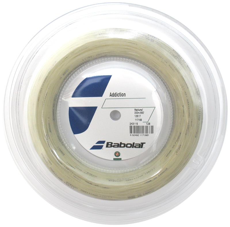 【在庫品】 バボラ アディクション 200m BA243115 硬式テニス テニスガット ストリング