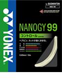 最大300円OFFクーポン付 【在庫品】 YONEX ヨネックスバドミントン ガットナノジー99 200mロール NBG99-2 バドミントンガット ストリングス2013年モデル