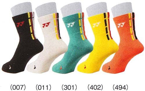 Yonex 袜子 19086 25%OFF! 羽毛球网球袜袜男人的 YONEX 2015 春天夏天模型。