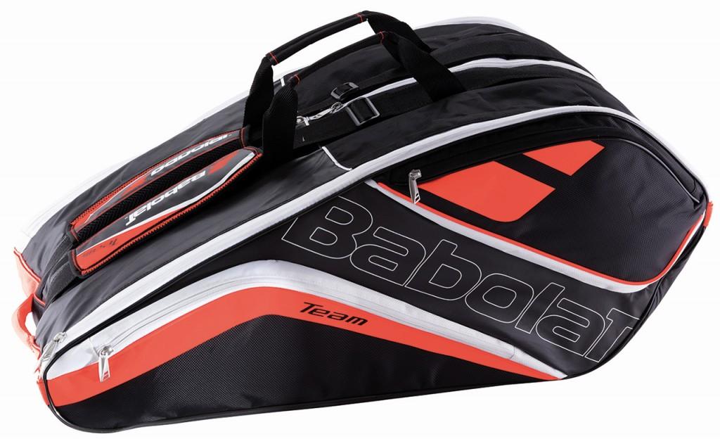 【在庫品】バボラ RACKET HOLDER X12 TEAM LINE ラケットバッグ(テニスラケット12本収納可) BB751152 バドミントン テニス ラケバ 収納 BABOLAT 2017SS