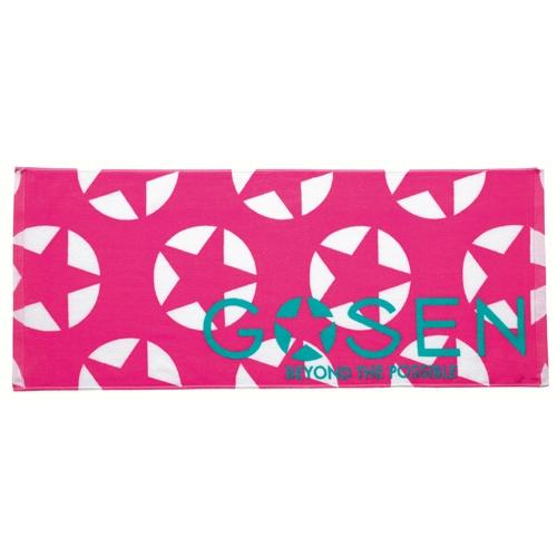 支持春夏季款yuu分組GOSEN洗臉毛巾(印刷)K1602羽球網球毛巾GOSEN 2016年
