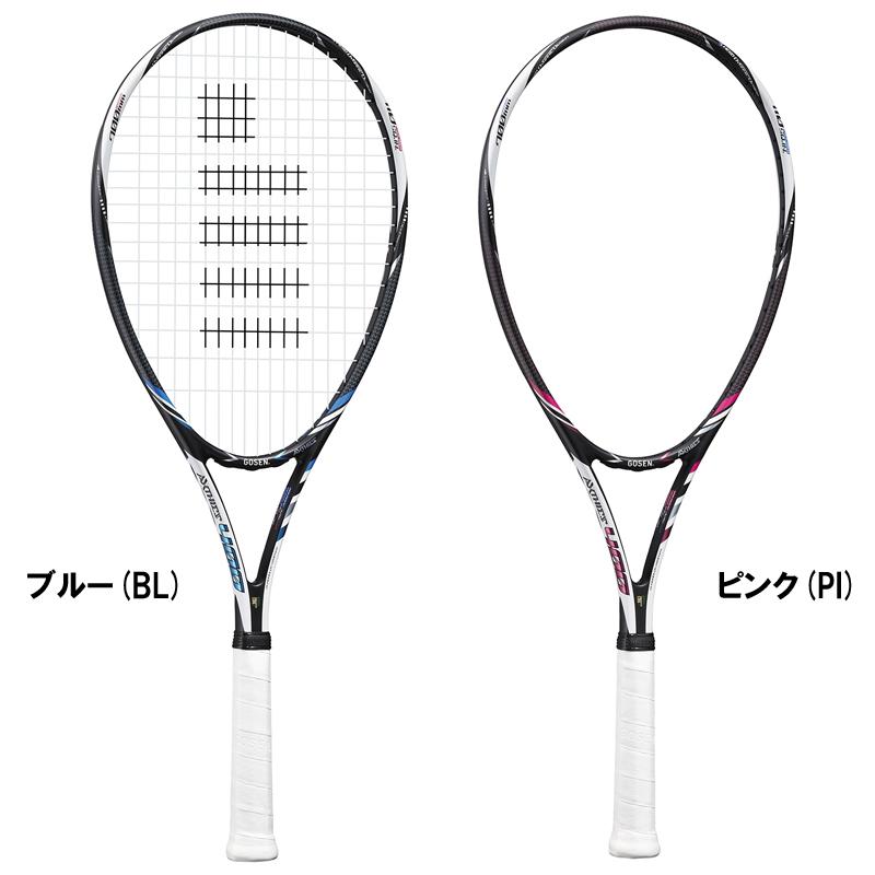 【取寄品】 ゴーセンAXTHIES 400 アクシエス 400 SRA4テニス ラケット 軟式 GOSEN 送料無料 ラッキーシール対応