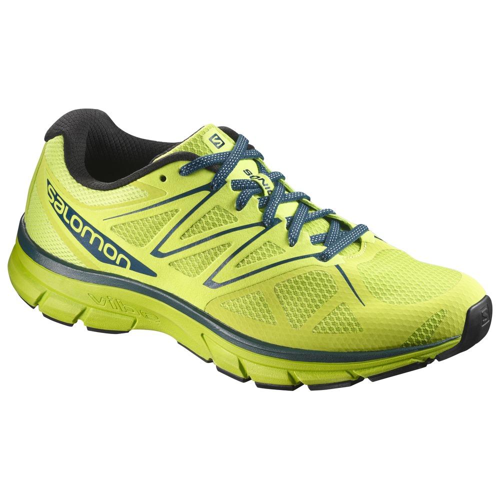 【在庫品】サロモン SONIC ソニック ライムパンチ/ライムグリーン/ブルー L39355000 ランニングシューズ ロードラン ジョギング マラソン サロモン2017SS