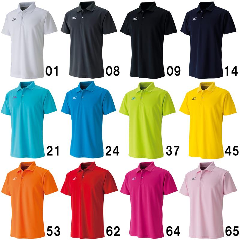 【取寄品】 ミズノ ポロシャツ 62JA6010 バドミントン テニス  ソフトテニス ウエア 半袖 ユニセックス 2016SS ゆうパケット(メール便)対応 ラッキーシール対応