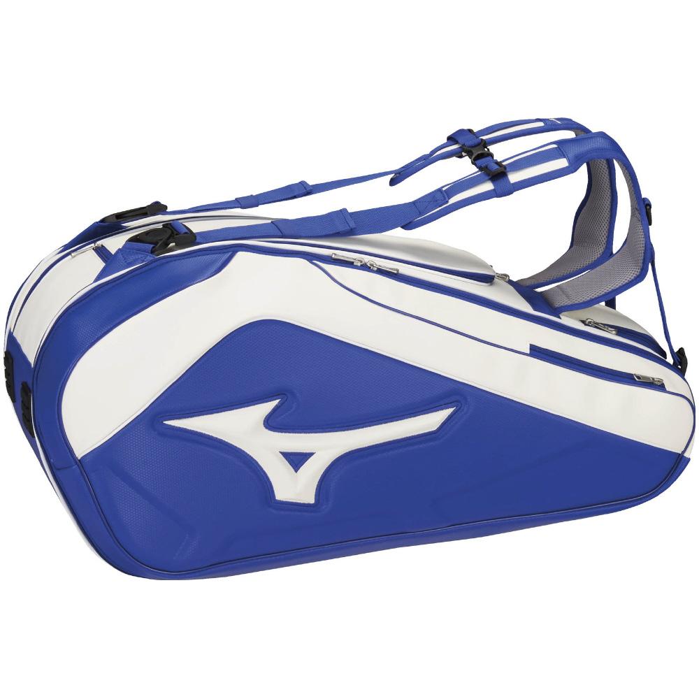 【在庫品】 ミズノ ラケットバッグ(9本入れ) 63JD8001メンズ 2018SS バドミントン テニス