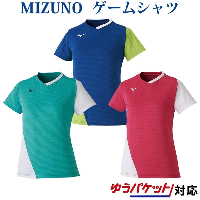 mizuno シャツ 毎日激安特売で 営業中です 半袖 女性用 ミズノ ゲームシャツ 日本限定 2020SS ソフトテニス 72MA0201 バトミントン テニス レディース
