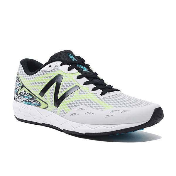 【在庫品】 ニューバランスNB HANZOT M H1 ホワイト/イエローMHANZTH1ランニング ジョギング マラソン レーシング シューズNew Balance 2017AW