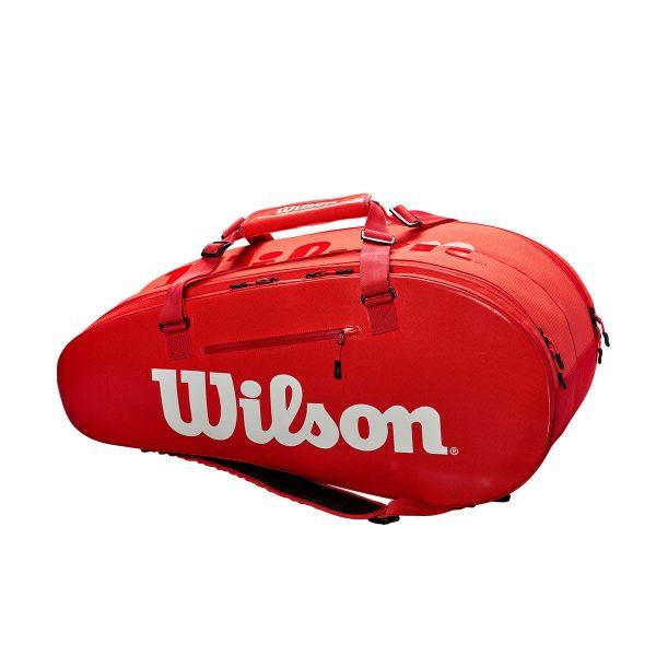 ウイルソン スーパーツアー2 コンプ ラージ レッド WRZ840809 2018AW 2018新製品 2018秋冬 ラッキーシール対応
